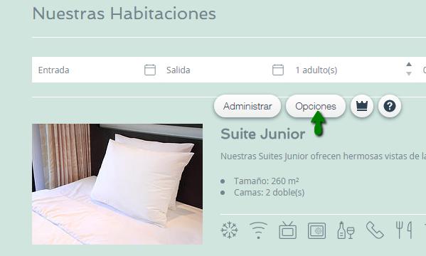 Personalizando La Lista De Habitaciones De Tu Hotel Centro